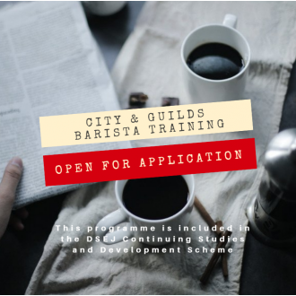 City and Guilds Barista Training